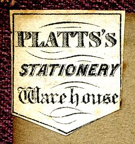 Platts's Stationery Warehouse
